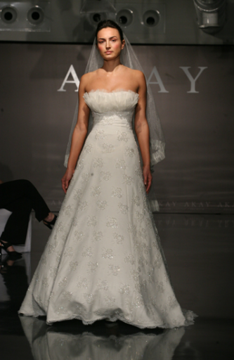 akay maison de couture wedding dress style 1018 dress onewed