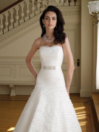 David tutera for mon cheri wedding dress style 111200 for Mon cheri wedding dress prices